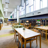 LA County Sustainability Award: East Rancho Dominguez Library, Design Architecture Firm: Carde Ten Architects