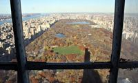 The view from New York's tallest residential skyscraper, One57 on to Central Park. (The Guardin; Photograph: Christina Horsten/dpa/Alamy Live News)