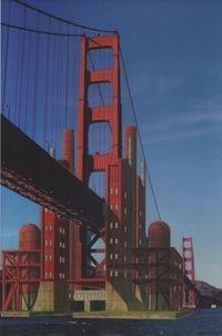 Marc L'Italien's Golden Gate Tidal Power & Desalination Station (1995-1999). Courtesy of Architizer.