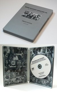 All Blackwood DVDs are delivered in SteelBook cases. Image from MichaelBlackwoodProductions.com