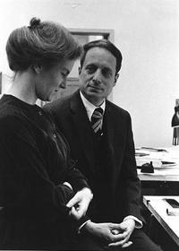 Denise Scott Brown and Robert Venturi, 1968. Image courtesy of Venturi, Scott Brown and Associates, Inc.