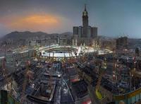 Ahmed Mater's Golden Hour, 2012. Image via theartnewspaper.com