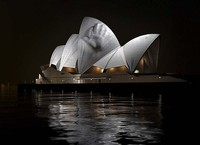 Setting sail … an example of what Urbanscreen has planned. (Image via The Sydney Morning Herald)
