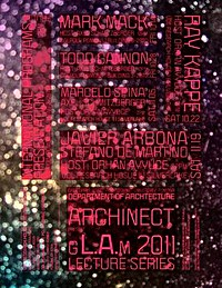 Archinect Sessions poster