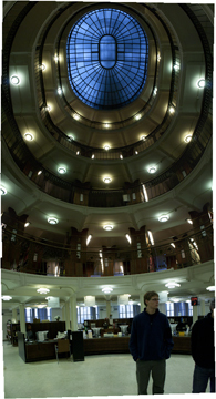 National Library Rotunda, and Sam Fox Student Seth Bartlett