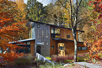 The Mehlman-Nasir House by BuildSense. Photo by Mark Herboth