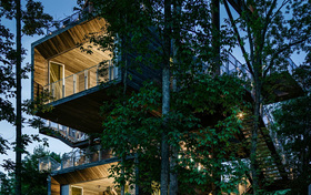 MITHUN designs 125-foot-tall Sustainability Treehouse in West Virginia
