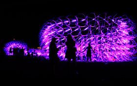 Student Works: Rock and Roll Fantasy - SCI-Arc at Coachella: Elastic Plastic Sponge
