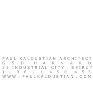 paul kaloustian architect