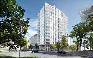 Richard Meier & Partners Designs New Apartments and the New Engel & Volkers Headquarters in Hamburg's HafenCity