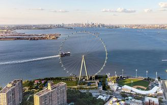 Construction work on New York Wheel to resume