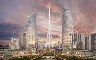 New images of world's next tallest tower, Calatrava-designed Dubai Creek Tower