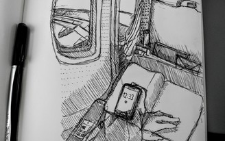 Sketching Across the Atlantic