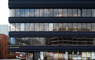 Nex— transform an uninhabitable 1960's office block into Brighton University's new high-tech Photography Centre