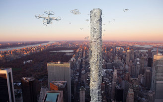 Drone Towers and Fullfilment Centers