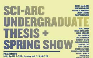 2012 Spring Show & Undergraduate Thesis Exhibition