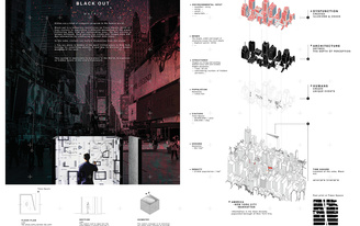 """24H Competition """"Matrix"""" winners imagine the surreal possibilities of NYC's Times Square"""