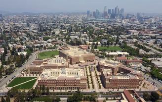 "Christopher Hawthorne reviews LA's newly opened USC Village development: ""Equal parts Disneyland and Hogwarts"""