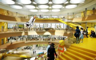 The LEGO Group shares plans for C.F. Møller-designed office complex in Billund