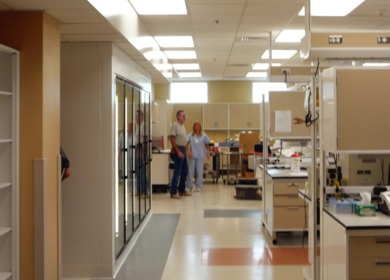 STERLING REGIONAL MEDCENTER Clinical Laboratory Addition and Renovations