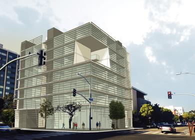 Privacy in Trancparency: atelier V designs Cube hotel in Santa Monica