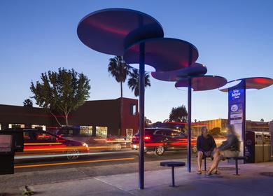 Big Blue Bus Stops