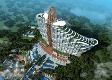 Sanya Haitang Bay Mangrove Tree Hotel,Sanya,China