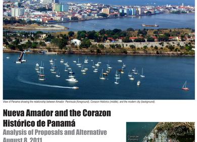 Nuevo Amador and the Corazon Historico de Panama