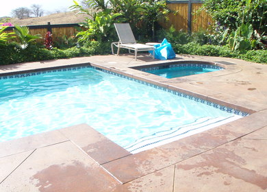 Healy Residential Pool and SPA in Maui Meadows