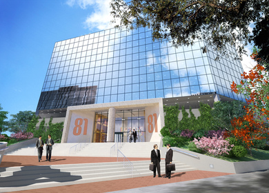 Main Street, Westchester Entry Redesign