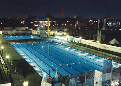1984 Olympic Games Pool Complex - USC Campus