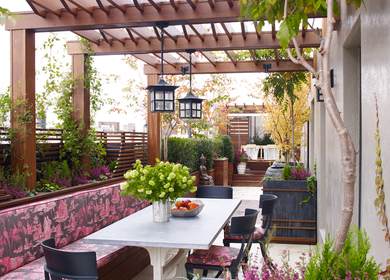 Upper West Side Terrace Design