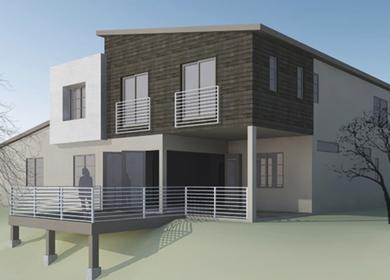 Fullerton Modern | Custom Residence: new construction