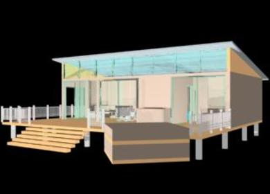 Low Cost Housing Container Home