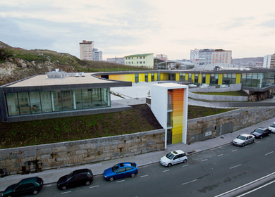 Center of Social Services in Montealto (A Coruña. Spain) Estudio de Arquitectura NAOS