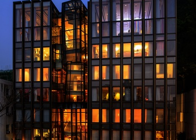 Aedas creates a sense of drama for an award winning private residence in Hong Kong