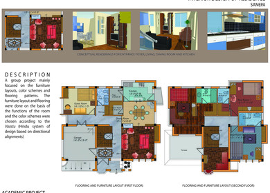 INTERIOR DESIGN OF RESIDENCE