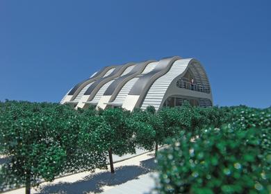 The Solar Vineyard House