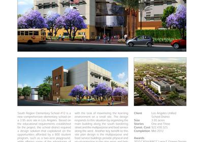 L.A.U.S.D. South Region Elementary School