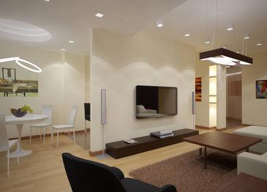 Apartment Design on Vardanants str. in Yerevan, Armenia