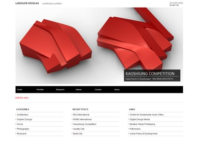 See website below for full portfolio: