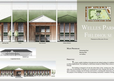 Welles Park Field House