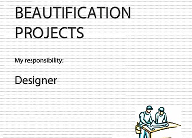 Beautification Projects - Landscape design