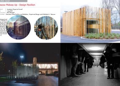 Moscow Mid way up - Design Pavillion