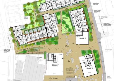 Marine Plaza Mixed Use Landscape