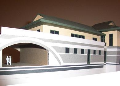 athletic building
