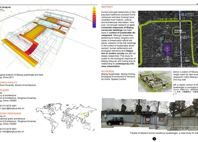 Master's Thesis - Beijing Quadrangle & Hutong