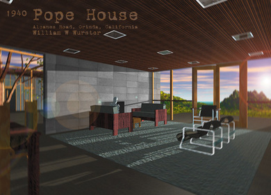 1997 Pope House by William W Wurster Case Study