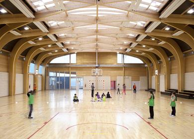 Gymnasium Regis Racine situated in Drancy north east Paris