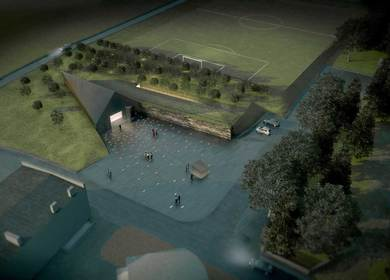 Architectural concept proposal for the Ulm Family of Markowa Museum of Poles Who Saved Jews in Podkarpackie.
